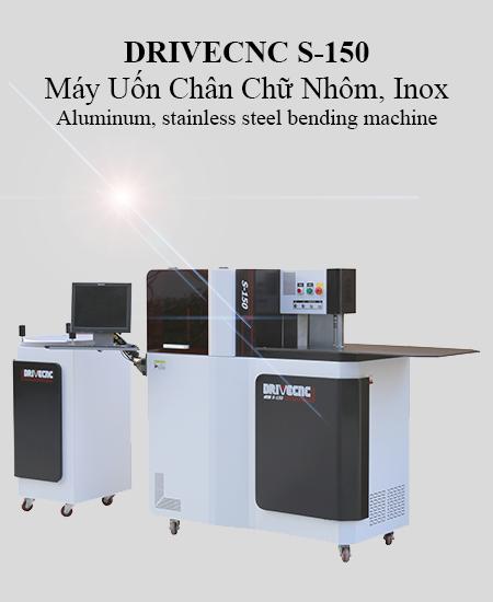Máy Uốn Chân Chữ Nhôm Inox DRIVECNC S-150
